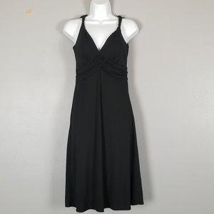 Ann Taylor Loft little black dress empyre waist 0